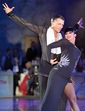 Евгений Смагин и Полина Казаченко