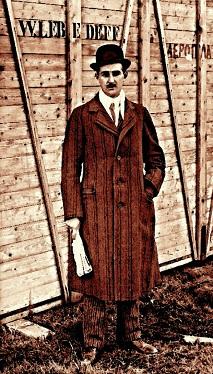 Владимир Лебедев в 1917 году