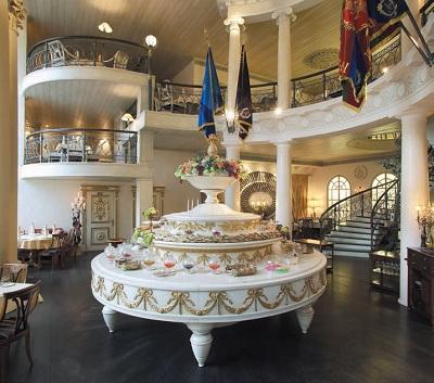 Шведский стол. Идея Д. Пшеничникова. Ресторан «1812» на ул. Садовой-Кудринской