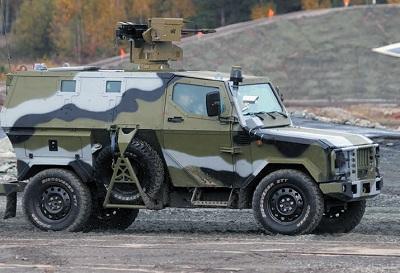 Основное применение продукции «ЛВС» — военные автомобили